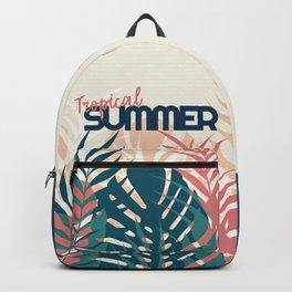Tropical Summer #society6 #decor #buyart Backpack