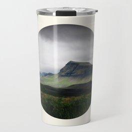 Cloudy Cliff Travel Mug