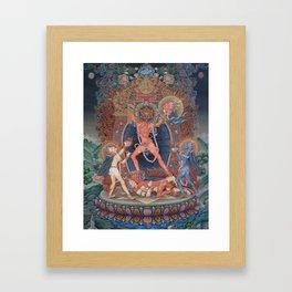 Hindu - Kali 3 Framed Art Print