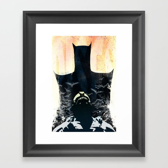 Rises - variant Framed Art Print