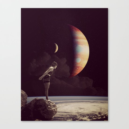 A View Of  Jupiter Canvas Print