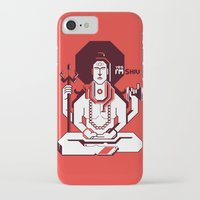 shiva iPhone & iPod Cases featuring Shiva by Tshirtbaba