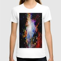 galaxy T-shirts featuring GaLaXY : Orion Nebula Dark & Colorful by Galaxy Dreams