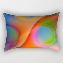 a towel full of colors Rectangular Pillow