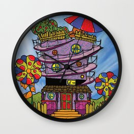 You're Welcome! Wall Clock