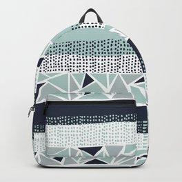 Modern Tribal 01 • Sea Glass Backpack