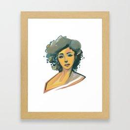 Clour Framed Art Print