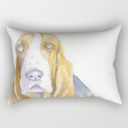 Bassett hound Rectangular Pillow