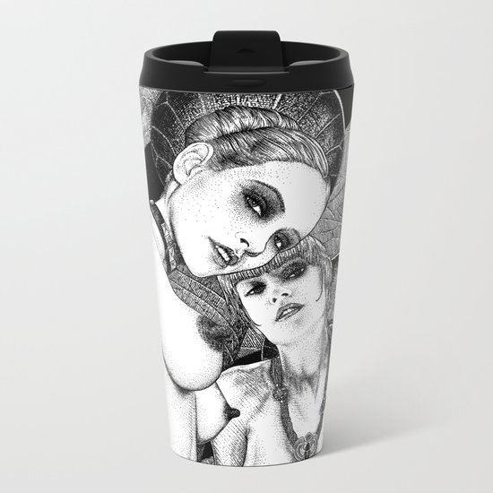 asc 670 - Les gardiennes de la nuit (Come with us) Metal Travel Mug