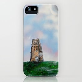 Glastonbury Tor 3 iPhone Case