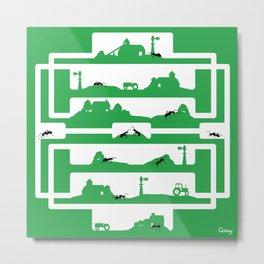 ant farm Metal Print