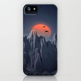TIE APPROACH iPhone Case