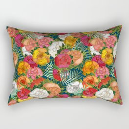 Old school roses Rectangular Pillow