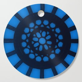 Spin the Wheel Blue Cutting Board