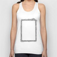 frame Tank Tops featuring frame by 13diamondhearts