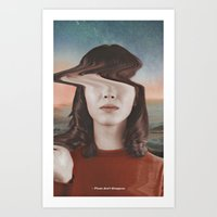 Please don't disappear Art Print