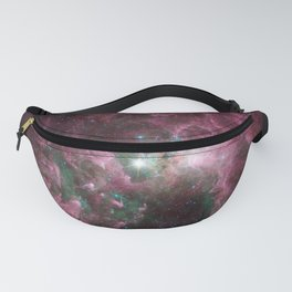 Abstract Purple Space Image Fanny Pack