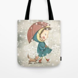 Christmas&snow Tote Bag