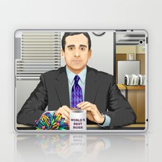 Steve Carell as Michael Scott (The Office) Laptop & iPad Skin
