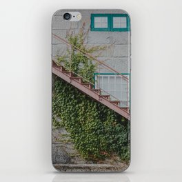 Stone House with Ivy Wall iPhone Skin