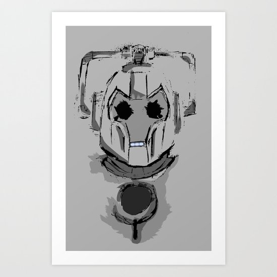 DELETE! Art Print