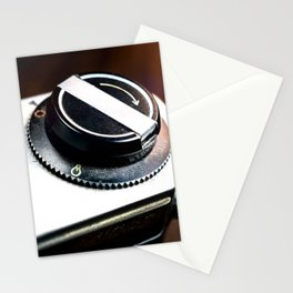 Vintage Photography Camera Detail Stationery Cards
