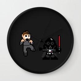 Pixel Wars Wall Clock