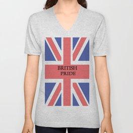 British Pride Unisex V-Neck
