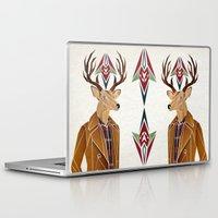 selena gomez Laptop & iPad Skins featuring dear deer by Manoou