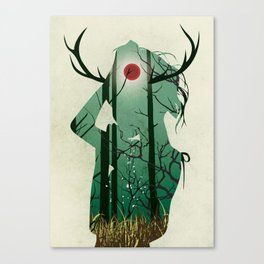 Nature Goddess Canvas Print
