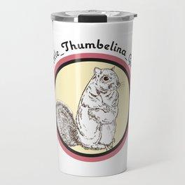 Little Thumbelina Girl: meerkat circle Travel Mug