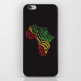 Reggae Africa iPhone Skin