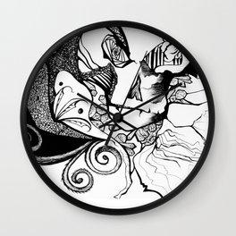 Dance Macabre Wall Clock