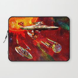 StarShips of the Federation Laptop Sleeve