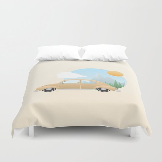 It's Time to Go Home Duvet Cover