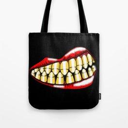 Bullet Teeth Tote Bag