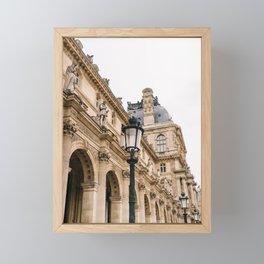 Louvre III Framed Mini Art Print