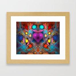 Peace Of My Heart Framed Art Print
