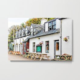 The Applecross Inn Metal Print