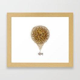 Yôga Framed Art Print