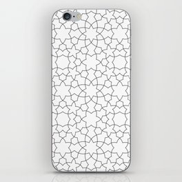 Minimalist Geometric 101 iPhone Skin