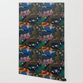 "Paul Gauguin ""Te Aa No Areois (The Seed of the Areoi)"" Wallpaper"