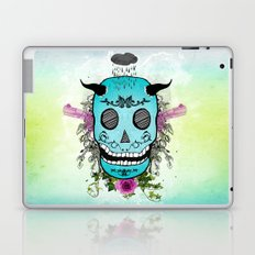 Rain Skull Laptop & iPad Skin