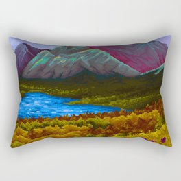 Mountain v2 Rectangular Pillow