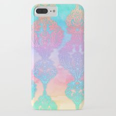 The Ups and Downs of Rainbow Doodles iPhone 7 Plus Slim Case