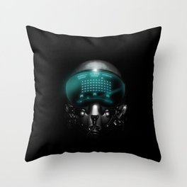 Space Invasion Throw Pillow