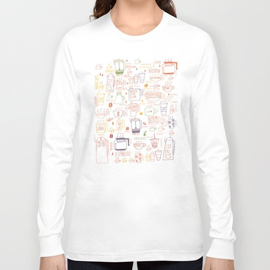 COFFEE IS DIVERSE Long Sleeve T-shirt