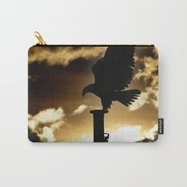 Golden Eagle Sunset Carry-All Pouch