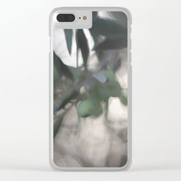 All Olived Up Clear iPhone Case