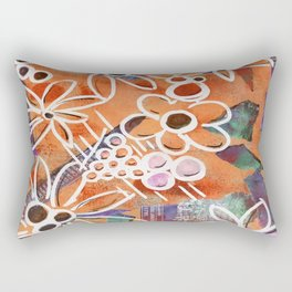 Flowers in Your Journal Rectangular Pillow